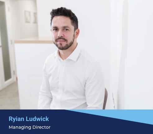 Ryian Ludwick's managing director